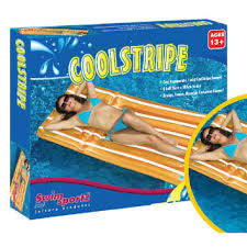 Swim Sportz Coolstripe Pool Lounger