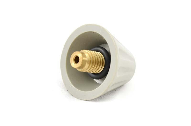 Quiptron Air Release Valve Cone Type - Grey