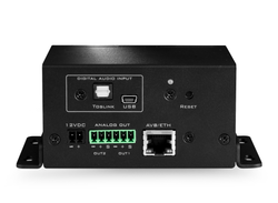 NDAC-2 / PoE+ AVB endpoint for loudspeaker connection