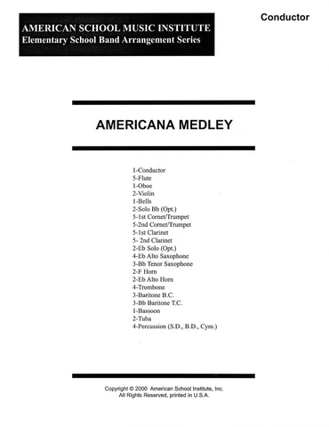 Americana Medley - Full Band