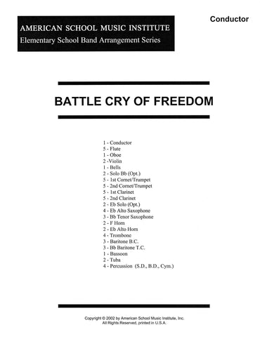 Battle Cry of Freedom - Full Band