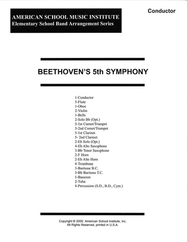 Beethoven's 5th Symphony - Full Band