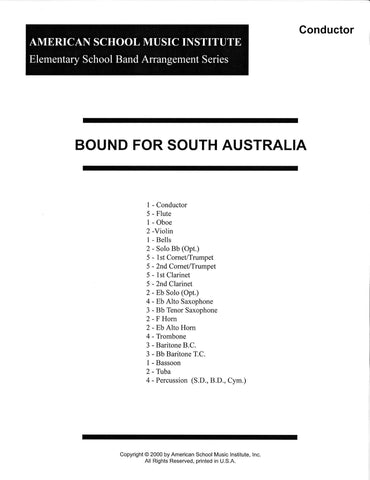 Bound For South Australia - Full Band