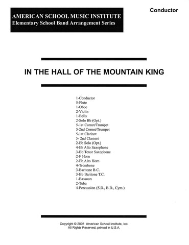 In The Hall Of The Mountain King - Full Band