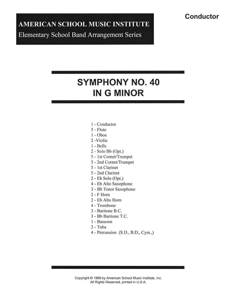 Classical Music for Elementary Band – American School Music