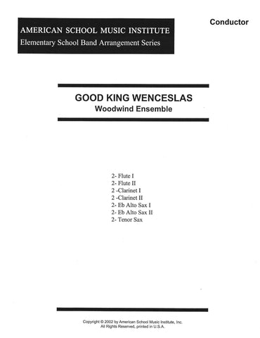 Good King Wenceslas - Woodwind Ensemble