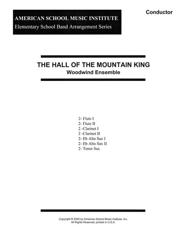 In The Hall Of The Mountain King - Woodwind Ensemble