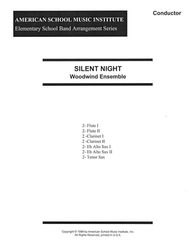 Silent Night - Woodwind Ensemble
