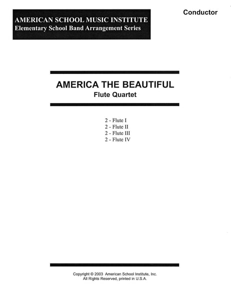 America The Beautiful - Flute Ensemble