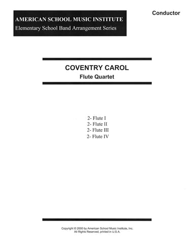 e02e0c2e7b0d Coventry Carol - Flute Ensemble – American School Music Institute