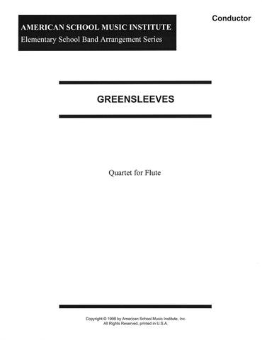 Greensleeves - Flute Ensemble