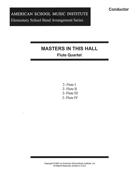 Masters In This Hall - Flute Ensemble