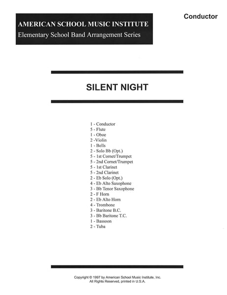 Silent Night - Full Band