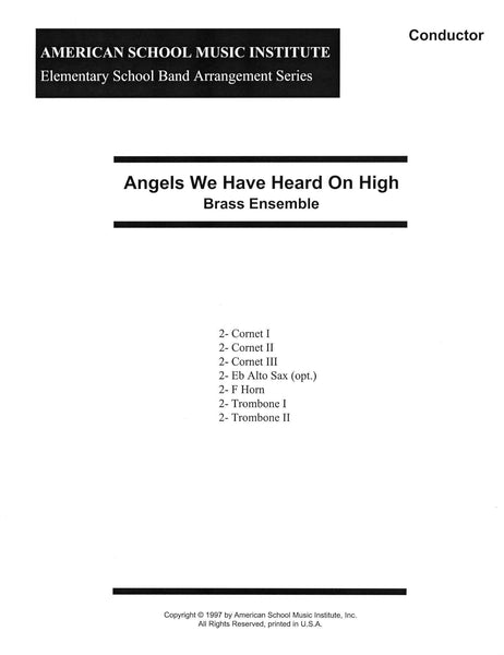 Angels We Have Heard On High - Brass Ensemble