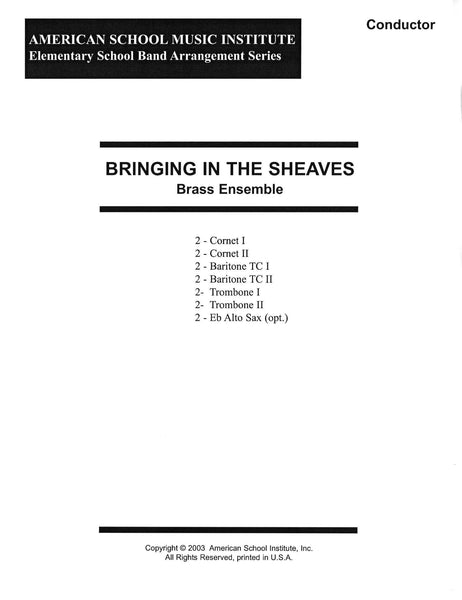 Bringing In The Sheaves - Brass Ensemble
