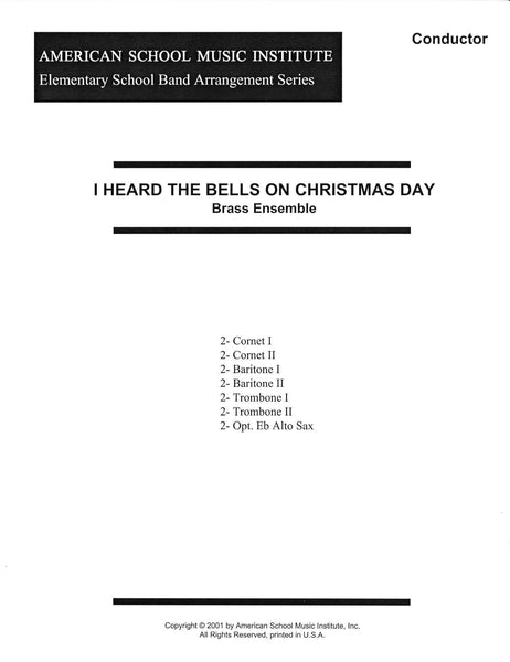 I Heard The Bells On Christmas Day - Brass Ensemble
