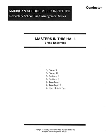 Masters In This Hall - Brass Ensemble
