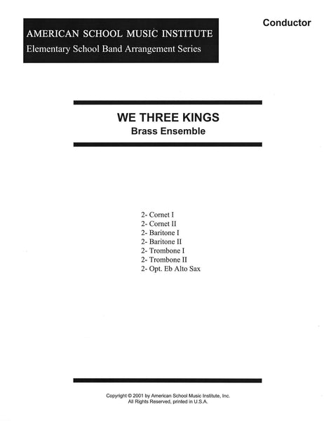 We Three Kings - Brass Ensemble