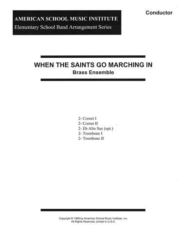 When The Saints Go Marching In - Brass Ensemble