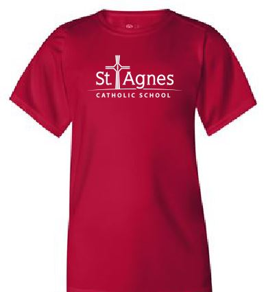 St. Agnes Youth Performance Tee