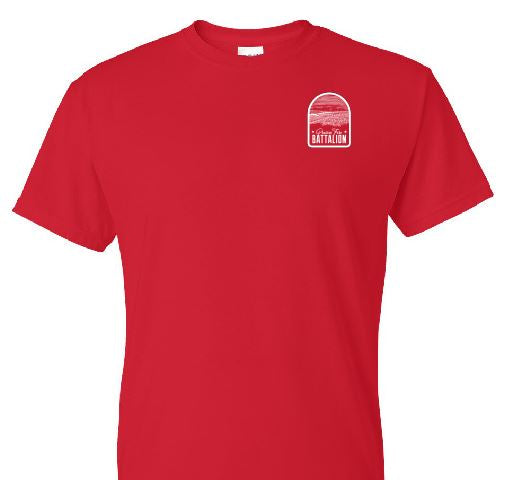 ROTC Tee or Long-Sleeve - Red
