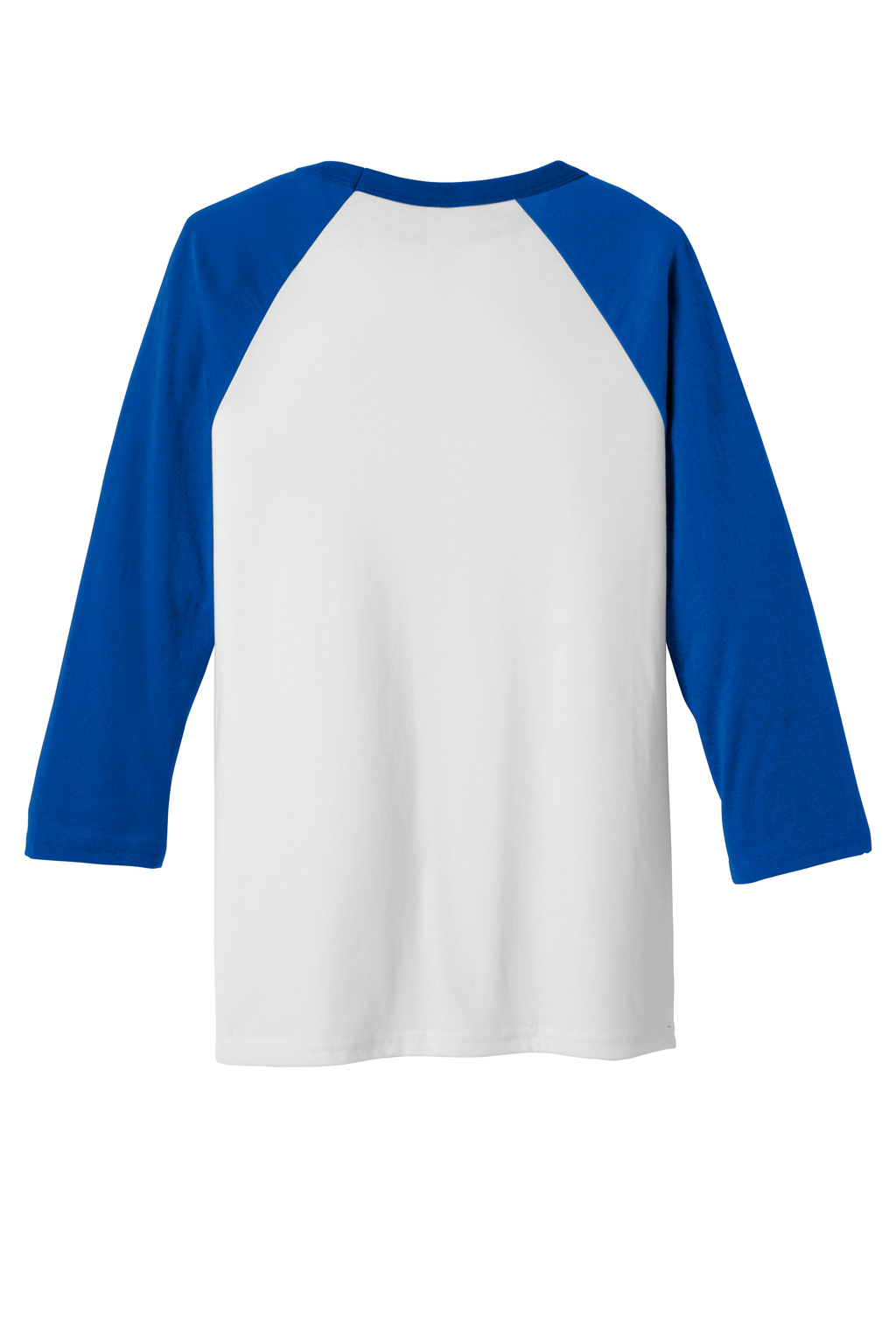 J&M Bella + Canvas Baseball Tee Solid Colors
