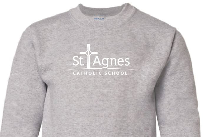 St. Agnes Youth Crewneck Sweatshirt