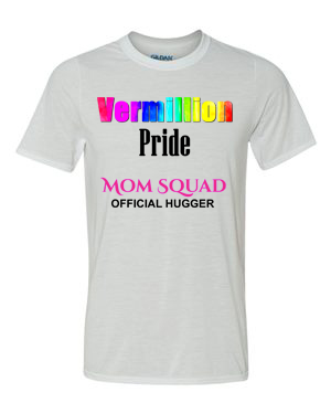 "Vermillion Pride ""Mom Squad"" T-Shirts"