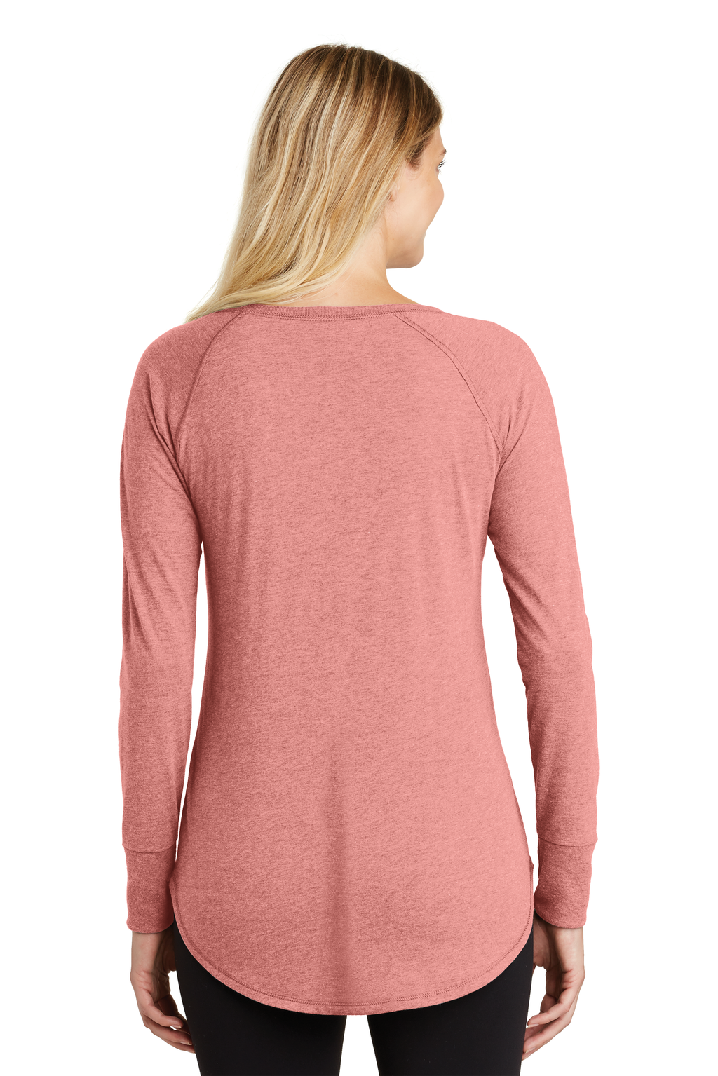 J&M Ladies TriBlend Long Sleeve Tunic