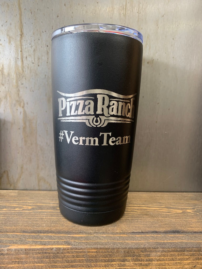 Pizza Ranch #VermTeam 20oz Tumbler