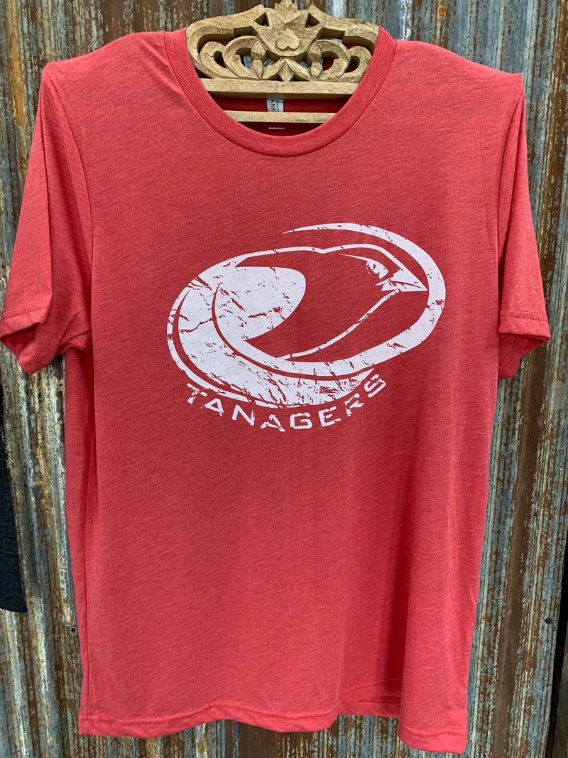 Bella red Tanagers t-shirt - XL
