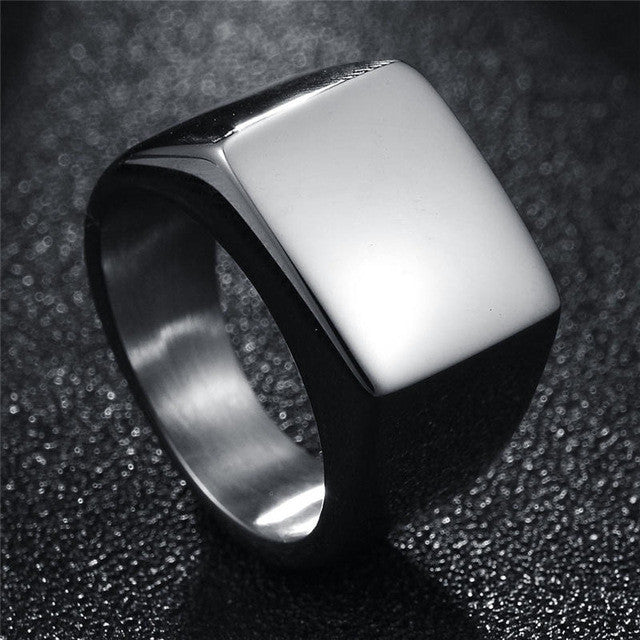 The Flat Signet Ring