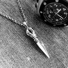 The King's Spearhead Pendant Necklace
