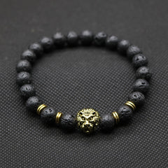 Antique Lion Head Bracelet