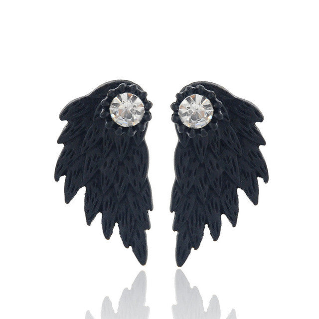 The Gothic Angel Wings Earrings