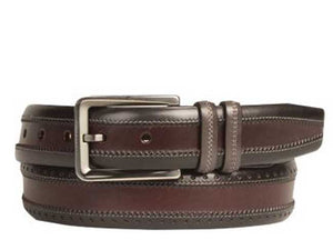 Calfskin Belt Black/Multi