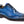 Load image into Gallery viewer, Burnished Calfskin Lace-Up Oxford Sapphire