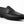 Load image into Gallery viewer, Woven Calfskin Penny Loafer Black