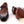 Load image into Gallery viewer, Burnished Calfskin Monkstrap Camel
