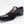 Load image into Gallery viewer, Mezlan Patent Leather & Suede Slip-On Shoe Black