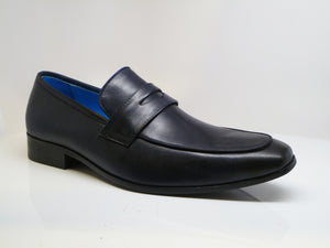 Calfskin Penny Loafer Graphite