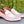 Load image into Gallery viewer, Shiny Calfskin Spectator Penny Loafer Pink/White