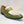 Load image into Gallery viewer, Shiny Calfskin Spectator Penny Loafer Olive/Tan