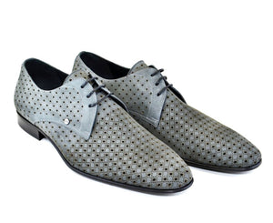 Corrente Suede Lace-Up Oxford Grey