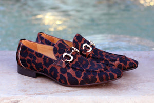 Carrucci by Maurice Pony Hair Loafer Leopard