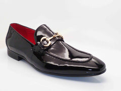 Carrucci by Maurice Shiny Calfskin Loafer Black