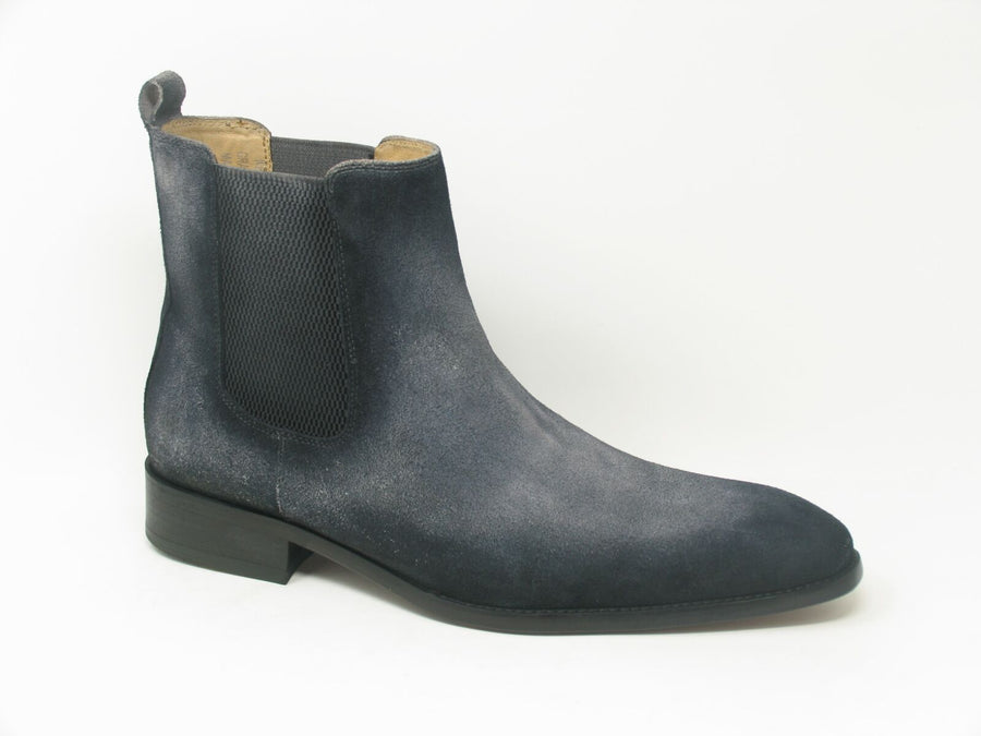 Suede Slip-On Boot Denim