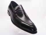 Calfskin Slip-On Penny Loafer Black