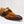 Load image into Gallery viewer, Calfskin & Suede Penny Loafer Cognac