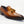 Load image into Gallery viewer, Burnished Calfskin Tasseled Loafer Cognac
